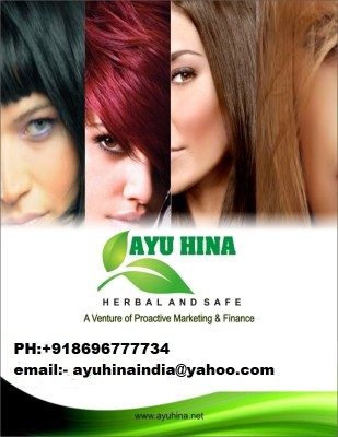 Ayu Hina Semipermanent Powder Hair Color