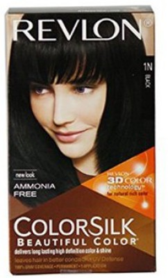 Revlon Colorsilk With 3D Technology (1N Black) Hair Color