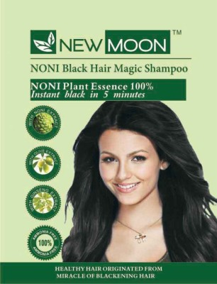 New Moon Noni Instant Color Shampoo 10 Sachets  Hair Color
