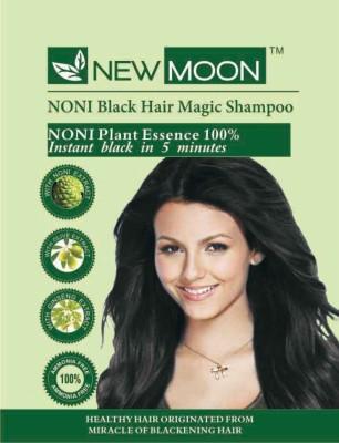 New Moon Noni Noni Hair Color Shampoo 10 Sachets  Hair Color