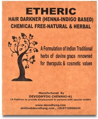 Etheric Henna & Indigo Based (200 gms) Hair Color