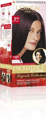 L,Oreal Paris Excellence Creme Legends Collection Hair Color