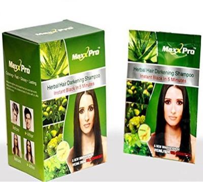 Maxx Pro Magic Hair Darkening Shampoo Hair Color