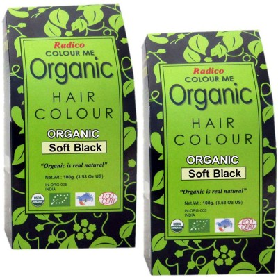 Radico Colour Me Organic Soft Black 100g (Set of 2) Hair Color