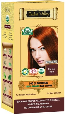 Indus valley 100% Botanical Natural Heathier Hair Color