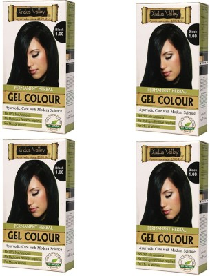 Indus Valley Black 1.0 One Time Use (Set of 4) Hair Color