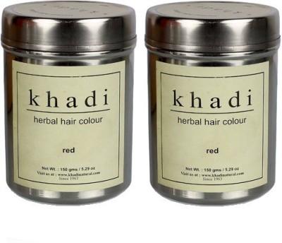 khadi Natural Herbal Hair Color ( Pack of 2) Hair Color