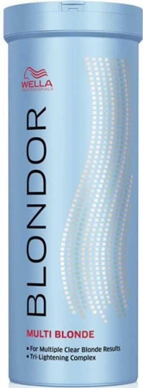 Wella Professionals Blondor Multi Blonde Lightening Bleach Powder 400ml Hair Color(Multi Blonde)