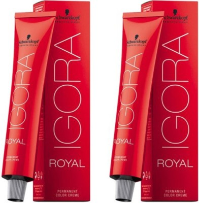 Schwarzkopf Professional IGORA Royal Pack of 2 Hair Color