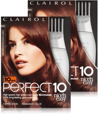 Clairol Perfect 10 By Nice And Easy  Hair Color