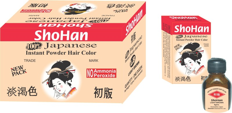 ShoHan Permanent Powder Hair Color(Light Brown)
