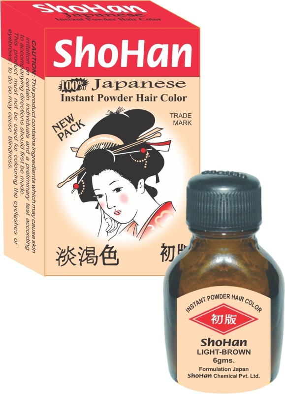 ShoHan Permanent Powder 24g Hair Color(Light Brown)