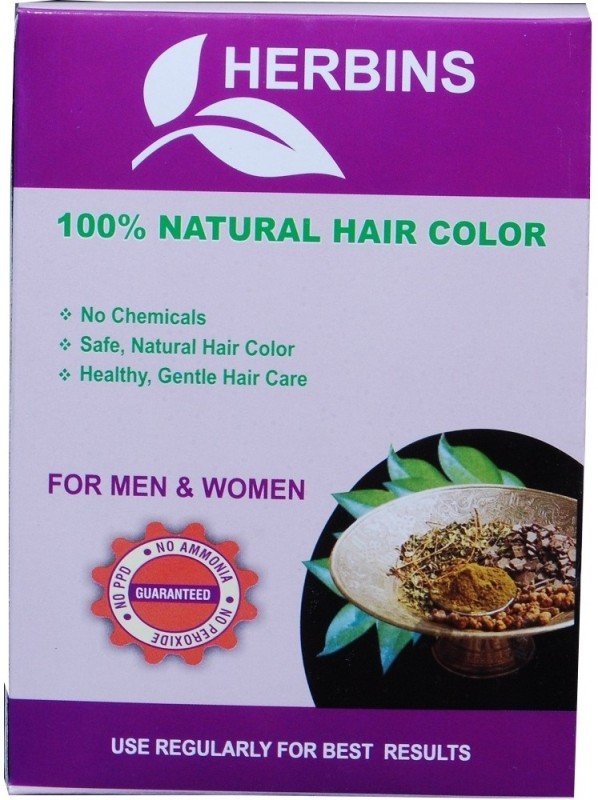 Herbins Herbal Powder Hair Color(Copper Brown)