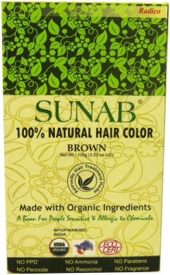 Sunab SUNAB 100% NATURAL HAIR COLOR Hair Color