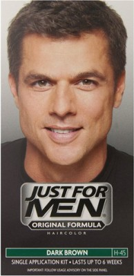 Just For Men Shampoo In Hair Color Dark Brown H- 45 Hair Color