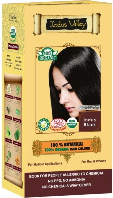 Indus valley 100% Botanical Organic Healthier Hair Color
