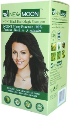 New Moon ( Pack of 20 pcs 30 ml ) Noni harbal dye Hair Color