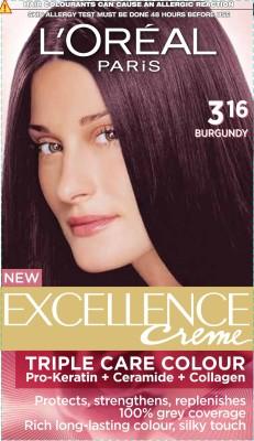 L,Oreal Paris Excellence Cream Hair Color(316 burgundy)