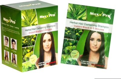 MaxxPro Herbal Hair Darkening Shampoo Hair Color