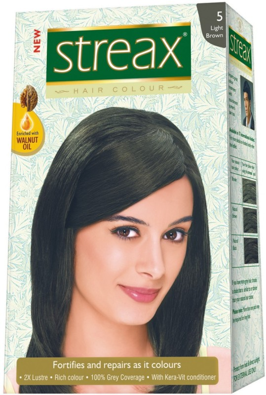 Streax Hair Color(Light Brown 5)