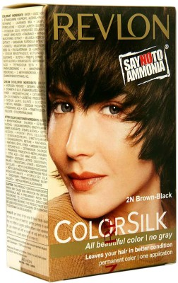 Revlon Colorsilk Hair Color(2N Brown-Black)