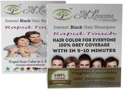 Rapid Touch Herbal Gel Hair Shampoo Hair Color