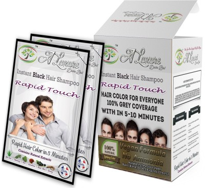 Rapid Touch Multibox Combo Pack Of 4 Boxes Instant Shampoo Hair Color