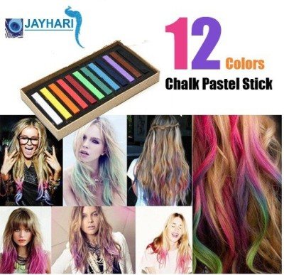 Jayhari Temporary Colors Hair Chalk Pastel Stick Hair Color