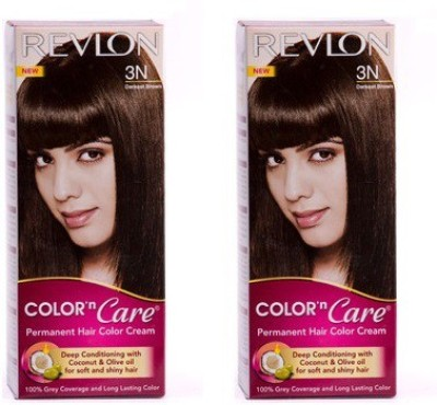 Revlon Combo of N Care - 3N Hair Color(Dark Brown)