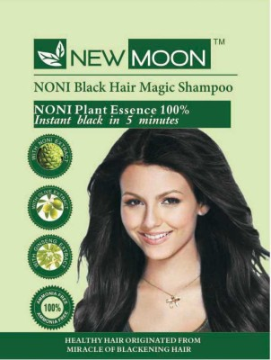 New Moon ( Pack of 10 ) Noni ayurvedic dye Hair Color