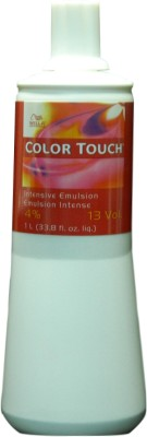 Wella Professionals Touch Intensive Emulsion 4 Percent Hair Color(Light Brown)