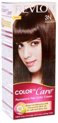 Revlon Permanent Powder Hair Color(Darkest Brown 3N)