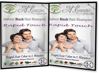 Rapid Touch Herbal Black Shampoo Hair Color