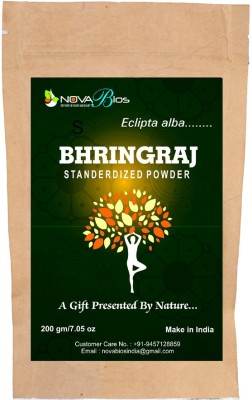 Nova Bios Bhringraj Herbal Powder Hair Color