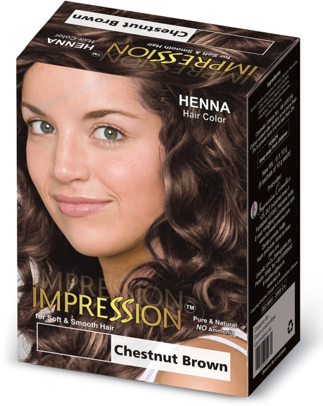 Impression Henna Based Hair Color(Chestnut Brown)