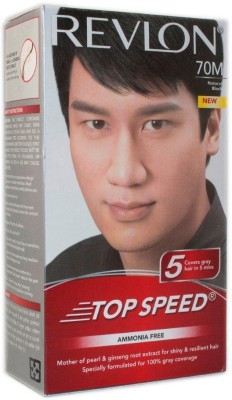 Revlon Top Speed Man Natural Black 70 M Hair Color