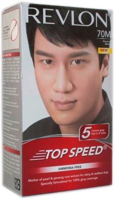 Revlon Top Speed Man Natural Black 70 M Hair Color(Natural Black)