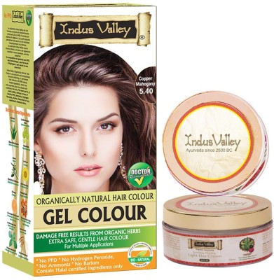 Indus valley Organically Natural with light Day Cream free Hair Color