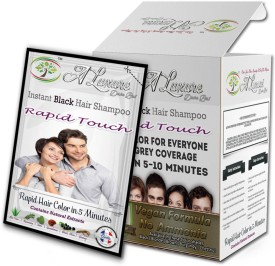 Rapid Touch Natural Black Shampoo Hair Color