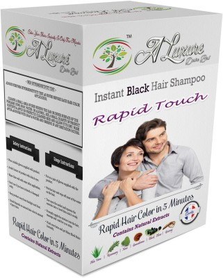 Rapid Touch Herbal Cream Shampoo Hair Color