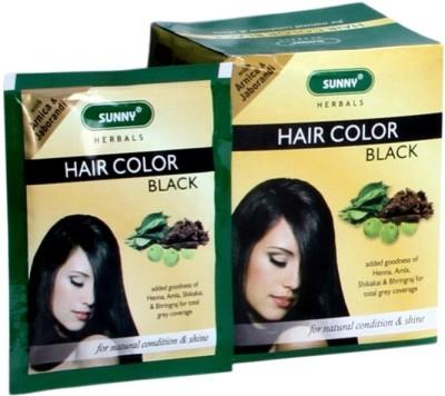 Bakson's Sunny (Pack of 12) Hair Color(Black)