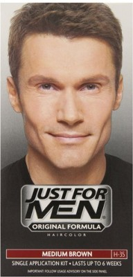 Just For Men Shampoo-In Hair Color Medium Brown H - 35 Hair Color
