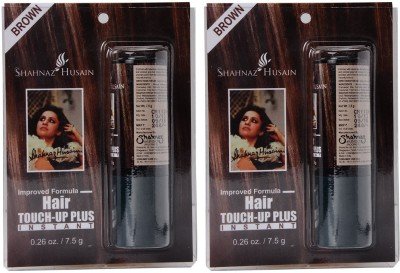 Shahnaz Husain Touch Up Plus Pack of 2 Hair Color