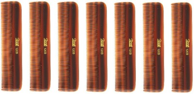 Roots Brown Pocket Comb - Pack of 7
