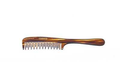 Kent 21T Authentic Handmade Curved Double Row Detangling Comb -195mm