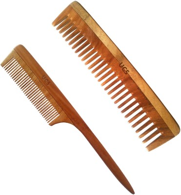 Uncommon Stuffs Set of 2 Combs for Thick Curly Hair