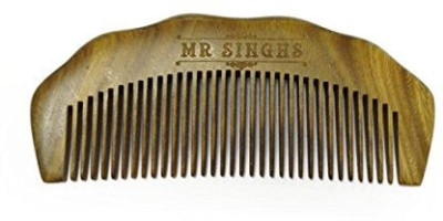 Mr Singhs Beard Comb- Hand Made- Engraved- Beautifully Crafted- Sandalwood