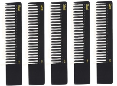 Roots Professional Cutting Combs - Black - Pack of 5