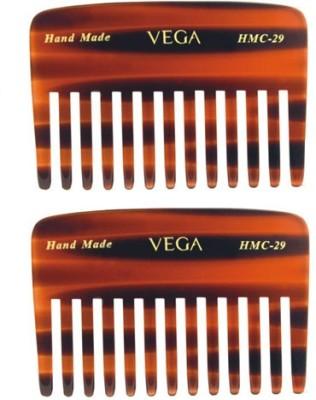 Vega Small Shampoo Comb HMC-29 (Set of 2)