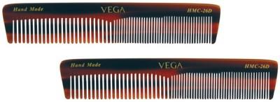 Vega Graduated Dressing Comb HMC-26D (Set of 2)